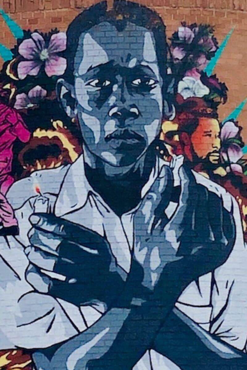 Medellin Street art, Colombia