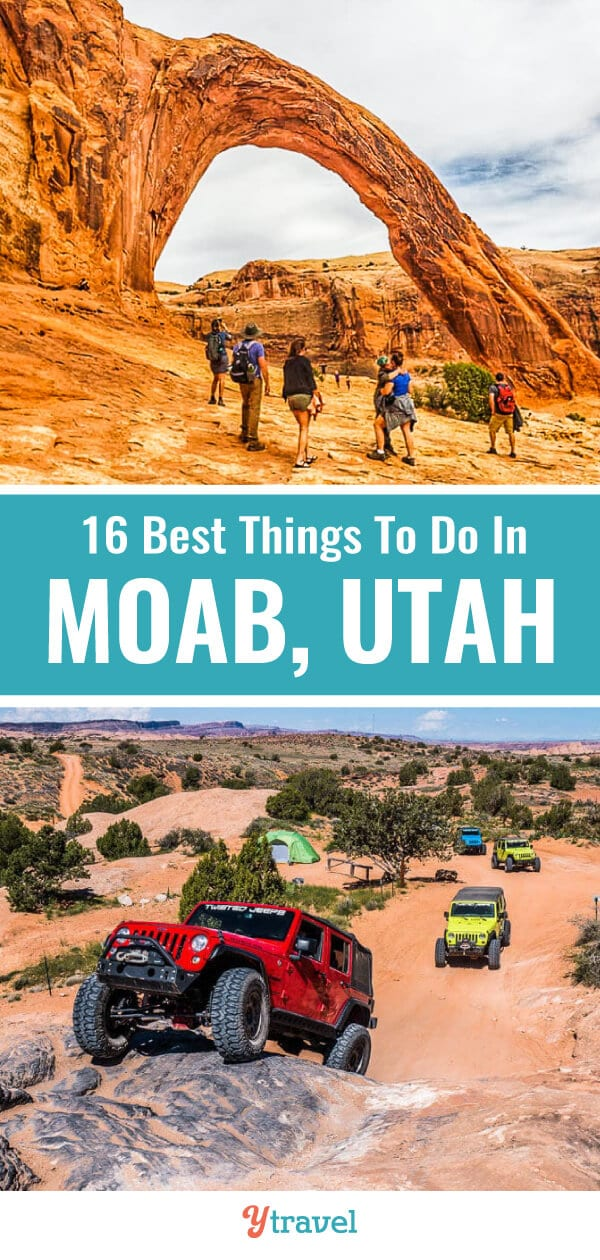 Planning to visit Moab? Here are the best things to do in Moab including best hikes, scenic drives, jeep tours, biking and where to stay. | Utah Travel | Moab Utah | Adventure Travel | Travel Tips | Hiking | Jeeps | family travel.
