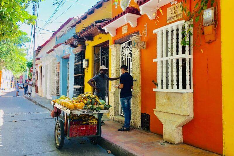 Cartagena Getsemani Neighborhood