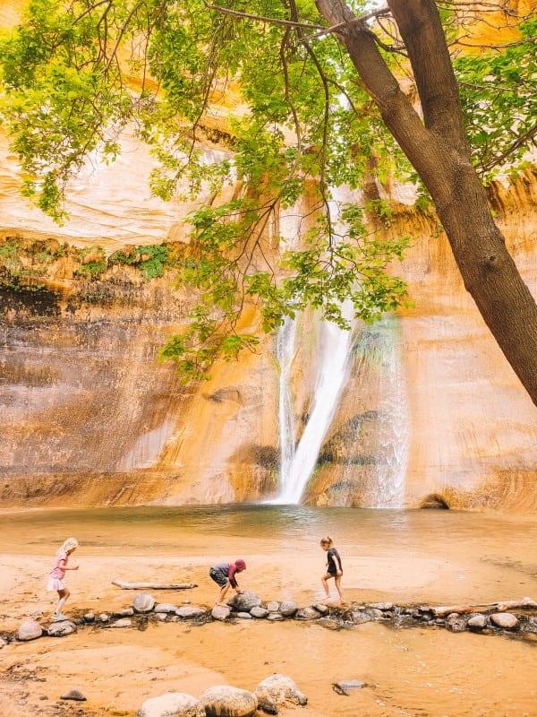 lower calf creek falls grand staircase escalante national monument utah (1)