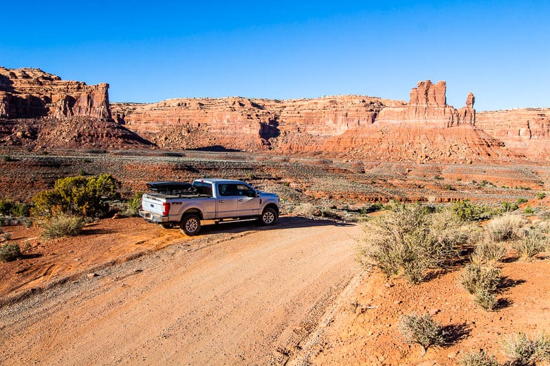 Valley of the Gods Scenic Drive