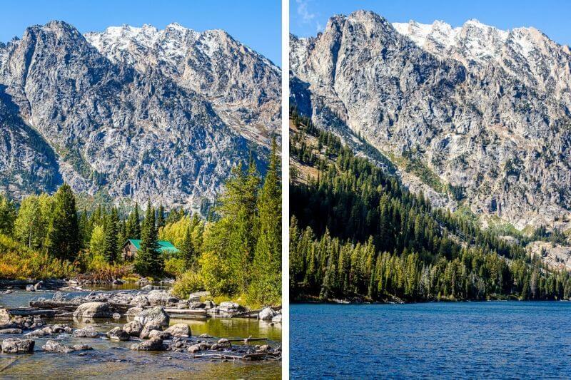 Views along the Jenny Lake Trail, Grand Teton National Park
