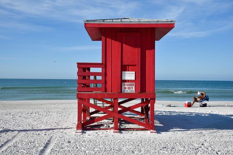 Sarasota Beach, Florida best beach in the USA