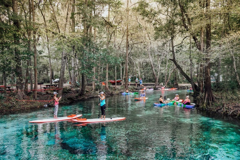 Ginnie Springs a must see in Florida