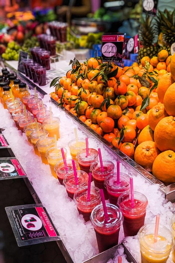 Mercado Central Valencia, Spain