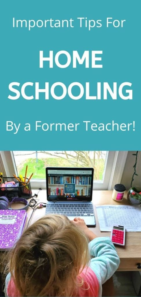 Survival Tips for Schooling Your Child at Home in This CRAZY Time!