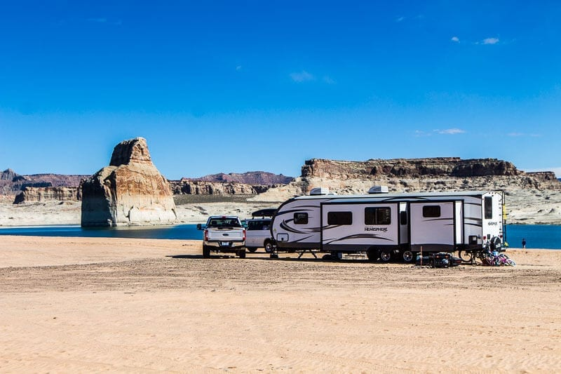 Lone Rock Beach Campground