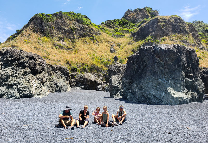 Black Sand Beach, California
