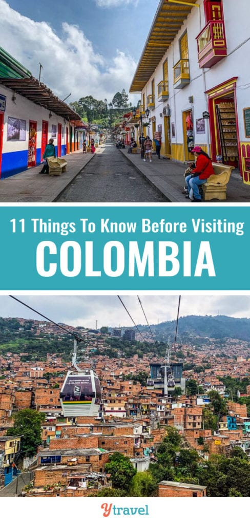 Planning on visiting Colombia? Here are 11 things to know before you travel to Colombia. Don't take a Colombia vacation before reading these Colombia travel tips.