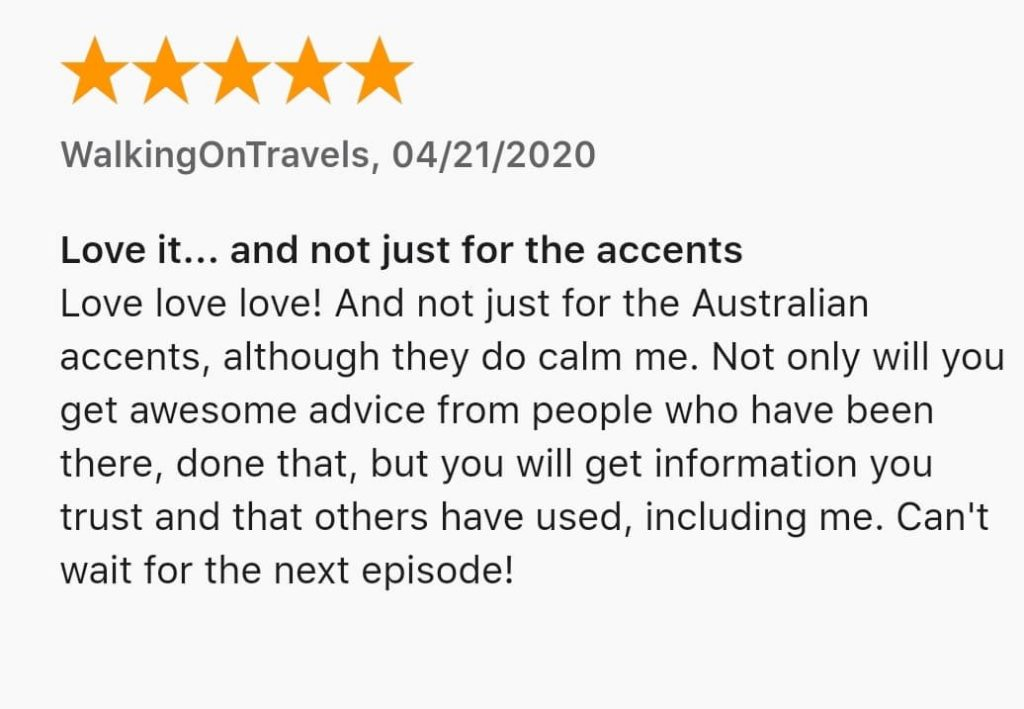 y travel podcast review