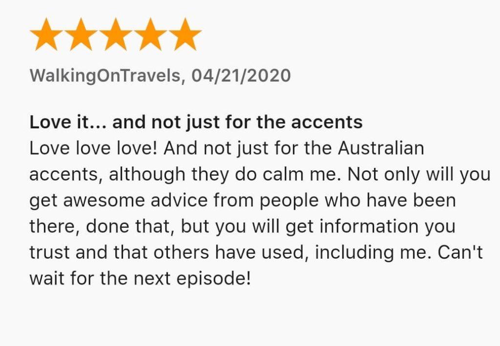 y podcast critique de voyage