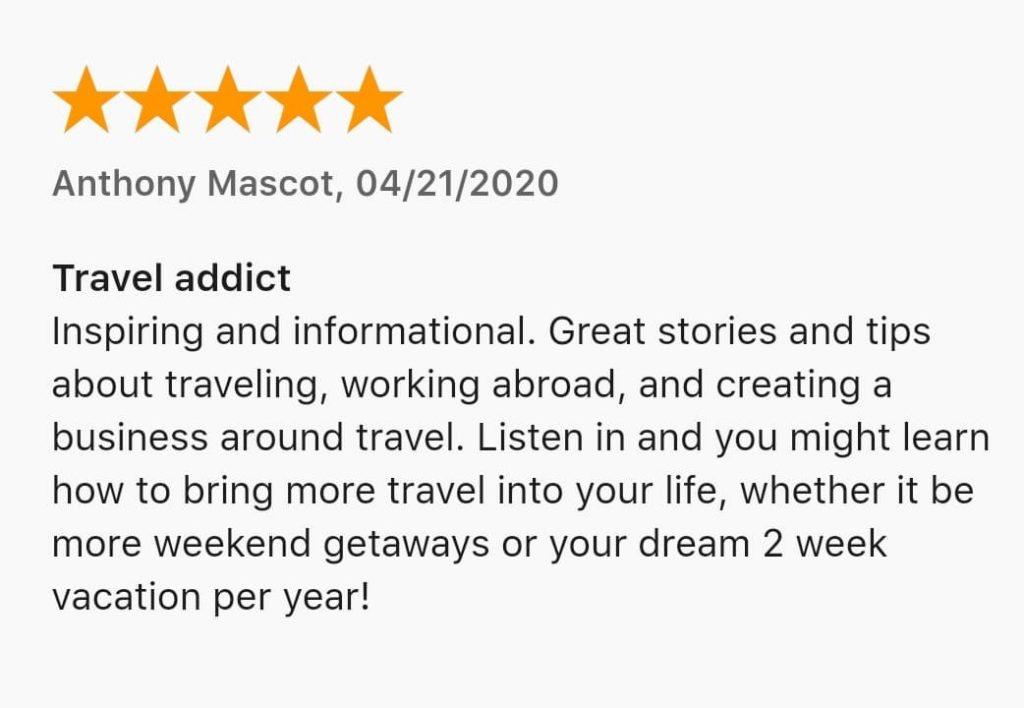 best travel podcast