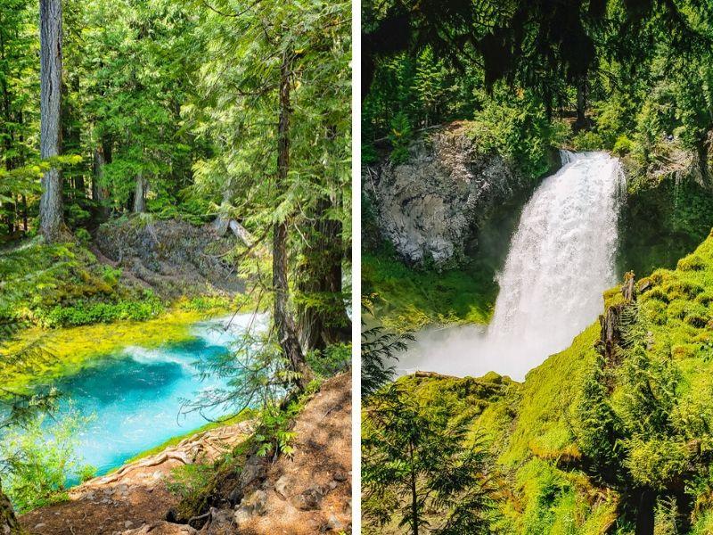 Koosah Falls Hike, McKenzie River, Oregon