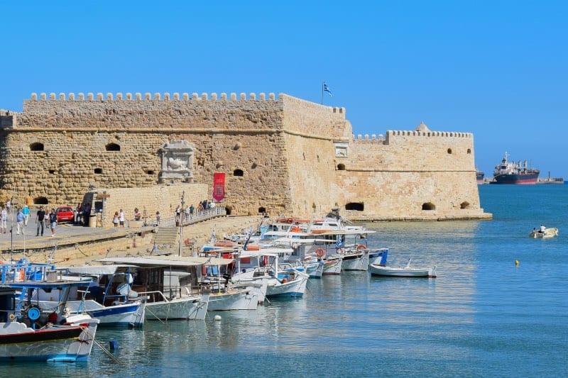 The Venetian Fortress of Heraklion, Crete