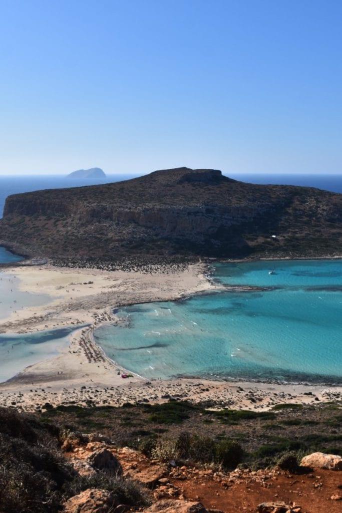 Balos beach and lagoon, Crete, Greece