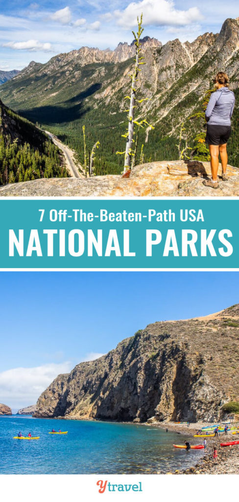 Love visiting national parks? Check out these 7 USA national parks you may not have heard of but should be added to your USA travel bucket list.