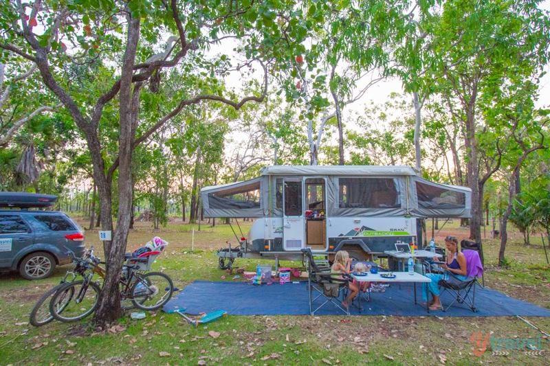 camping australia caravan