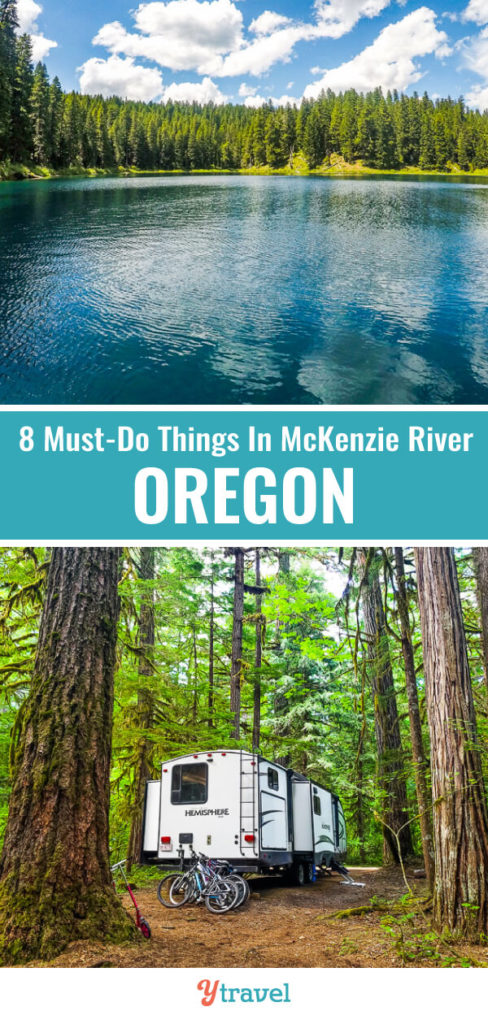 McKenzie River in Oregon is a beautiful region. Here are 8 must-see things in McKenzie River Valley on your Oregon road trip.