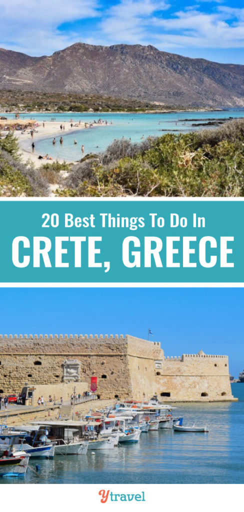 Planning a trip to Greece? Consider Crete on your Greek Islands vacation. Here are the 20 best things to do in Crete Greece.
