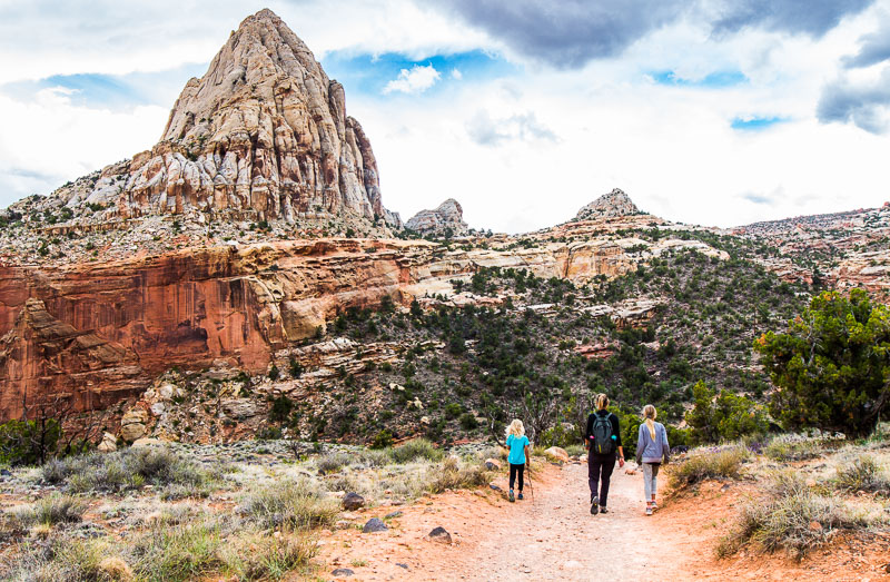 Capitol Reef National Park, one of the best US national parks off the beaten path