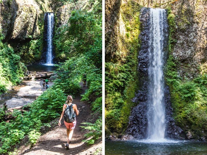 Wiesandanger Falls, Oregon