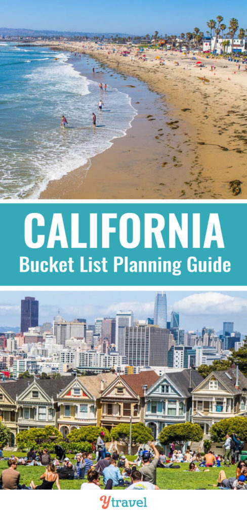 Planning a trip to California? Here is a California bucket list guide and tips on the best things to do in California. Don't take a California vacation before reading these California travel tips!