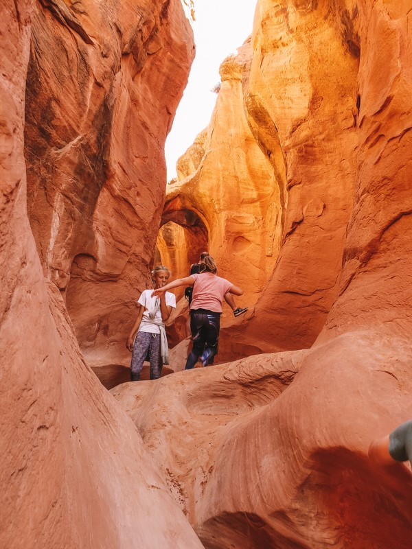 Peek a boo slot canyon grand staircase escalante national monument (1)