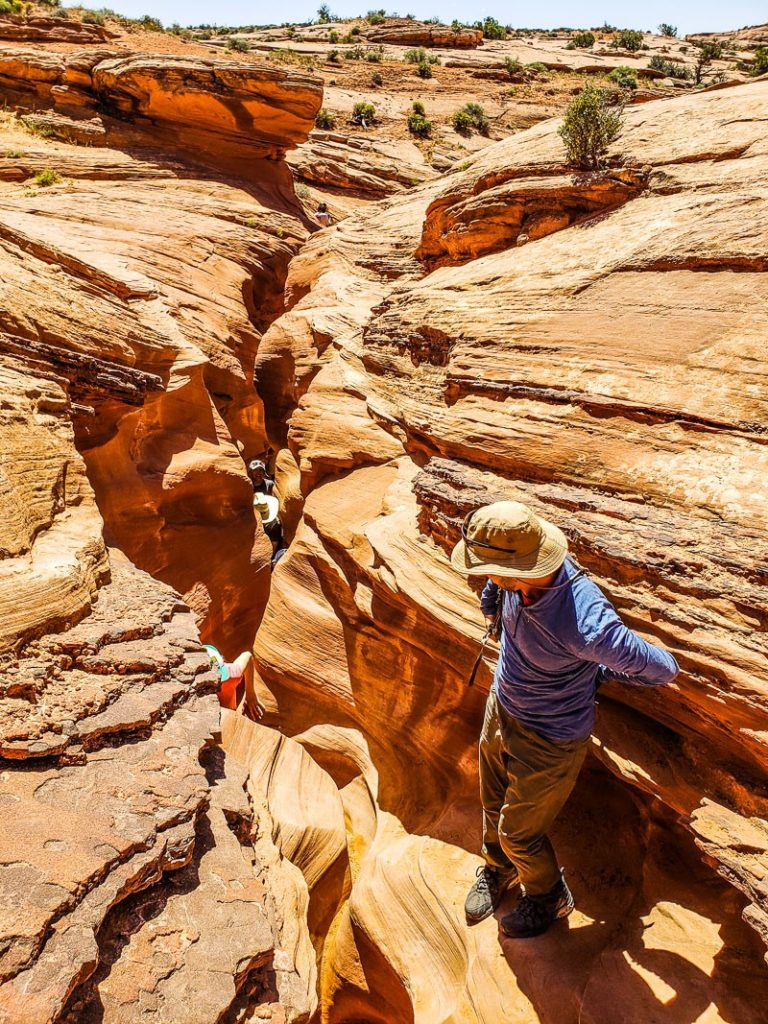 sppoky canyon escalante utah
