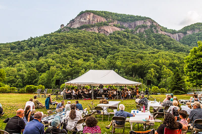 free things to do Chimney Rock Village