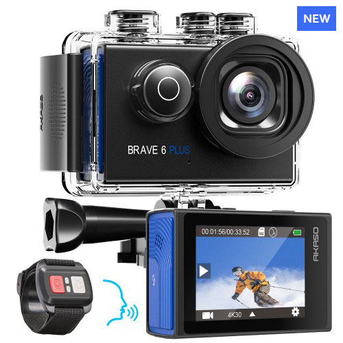 AKASO Brave 6 plus action camera review