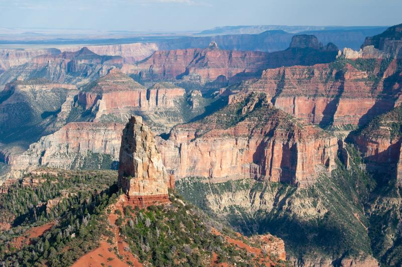 Point Imperial View, North Rim , Grand canyon