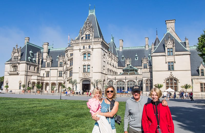 Biltmore House, North Carolina mountains