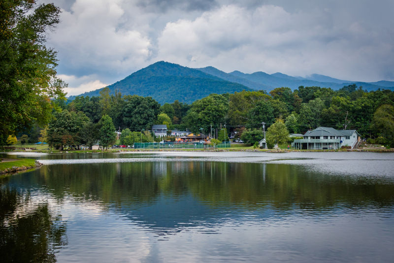Lake Tomahawk in Black Mountain, NC