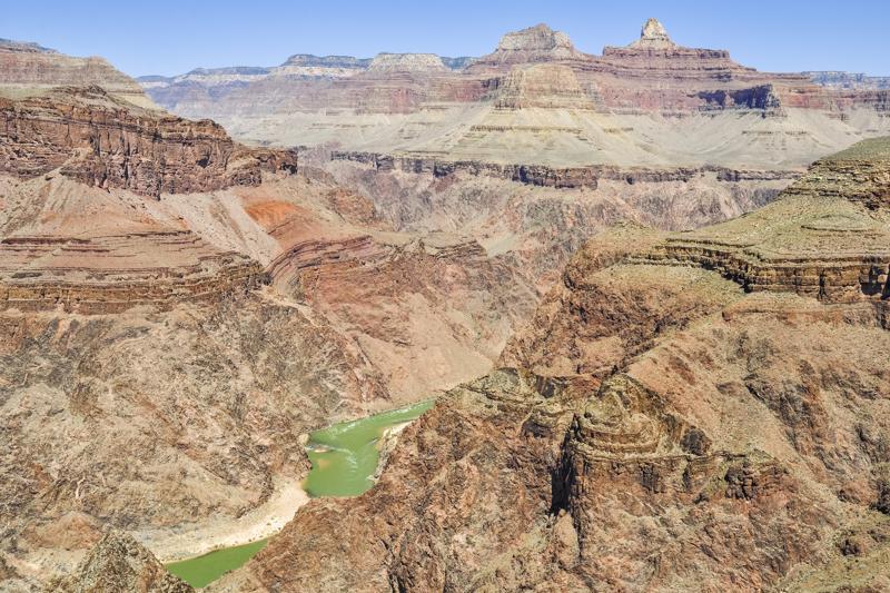 hike to Plateau Point, South Rim grand canyon