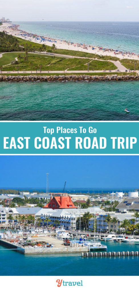Don't miss these tips on places to visit in the east coast USA on a road trip between North Carolina and Florida. Planning a road trip vacation just got easier with these suggested destinations.