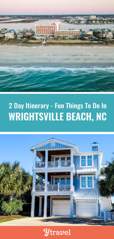Planning a trip to visit Wrightsville Beach in North Carolina? Here is a 2 day itinerary including tips on what to see and do, what to eat, and where to stay. Don't visit North Carolina for a beach vacation before reading these travel tips for Wrightsville Beach NC