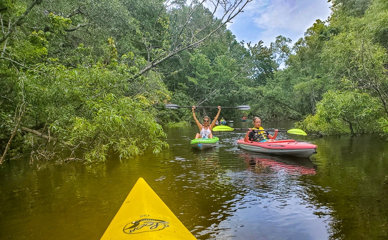 Kayaking the Aucilla River in Florida