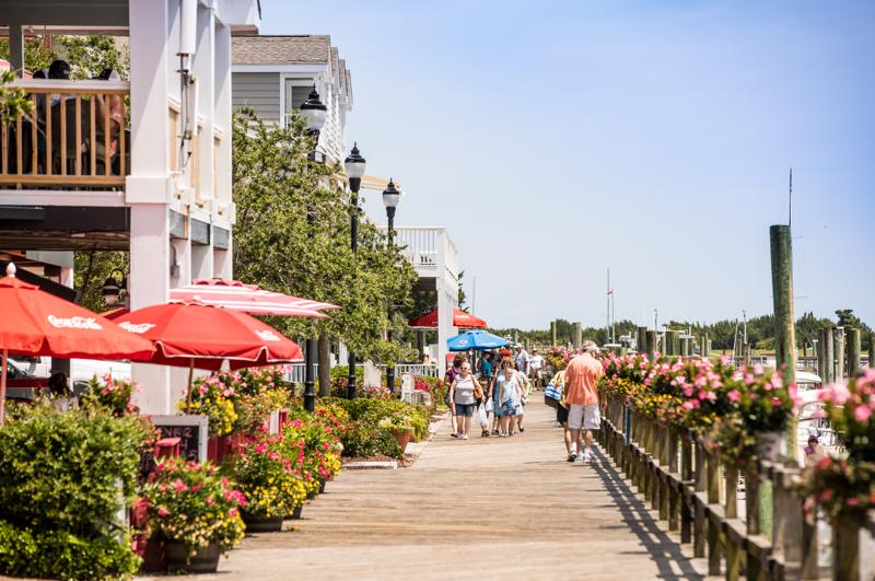 Downtown Beaufort NC Waterfront