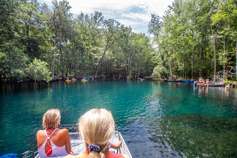 Big Blue Springs, Wacissa River, Florida