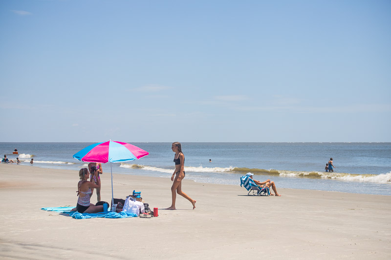 Hunting Island State Park Beach, SC