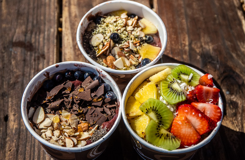 smoothie bowls The Spot Box, Outer Banks