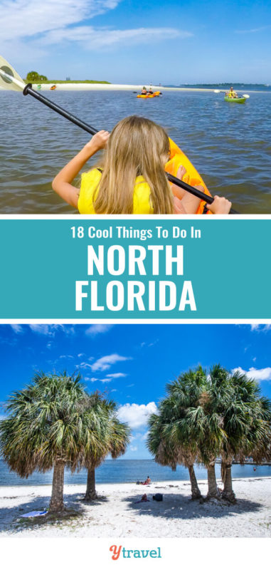 Planning to visit Florida? Why not consider North Florida for a change for fun activities like kayaking, swimming in natural springs, eating fresh seafood, and beaches. Here are 18 fantastic things to do in North Florida.