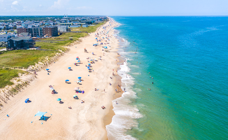 Kill Devil Hills Beach outer banks family vacation