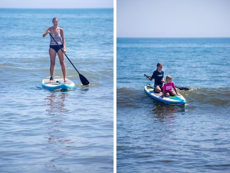 Stand up paddle boarding, Outer Banks, NC