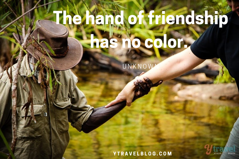 hand of friendship quote
