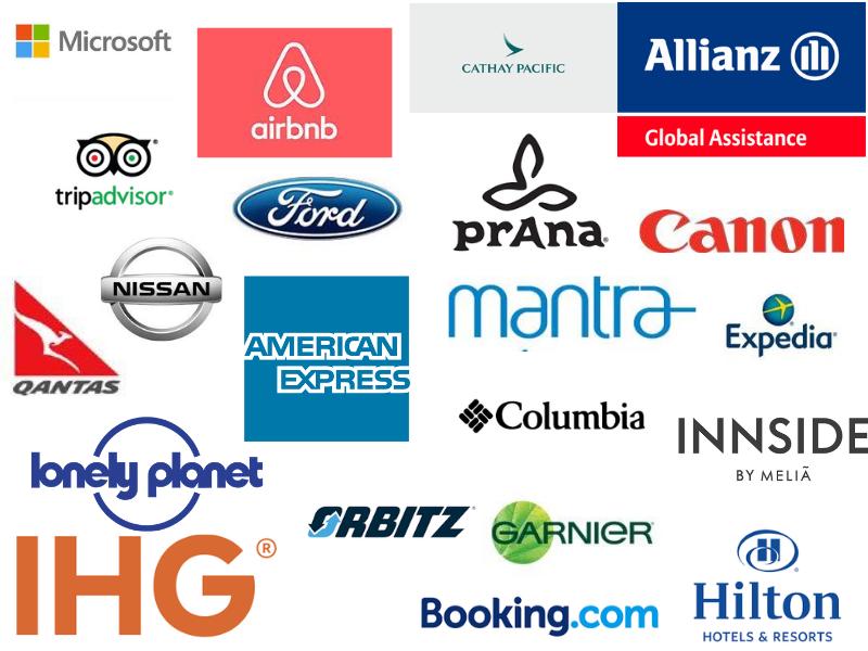 y travel blog brand partners