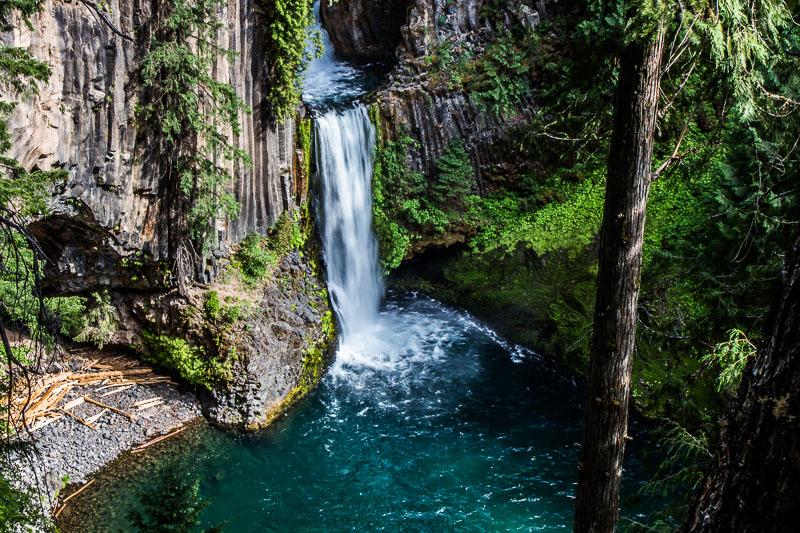 Toketee Falls, Umpqua National Forest
