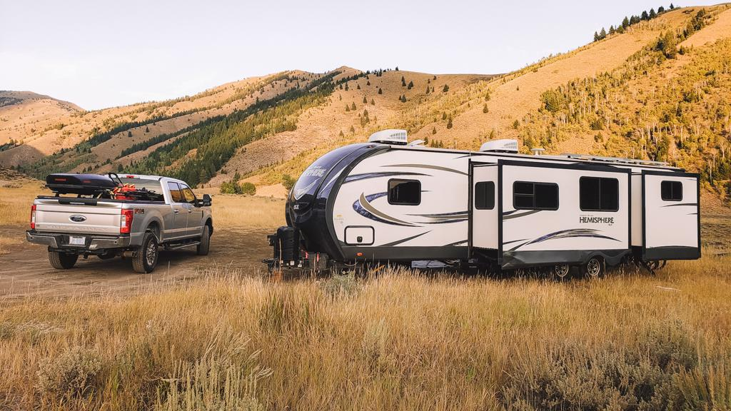 boondocking ketchum idaho