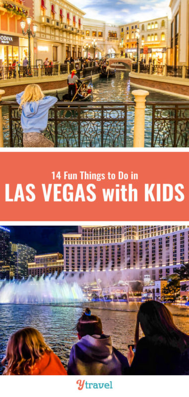 Planning a Vegas trip with kids? Here are 14 fun things to do in Las Vegas for kids that us adult's love doing too! Don't take a family Vegas vacation before reading this Las Vegas travel guide!