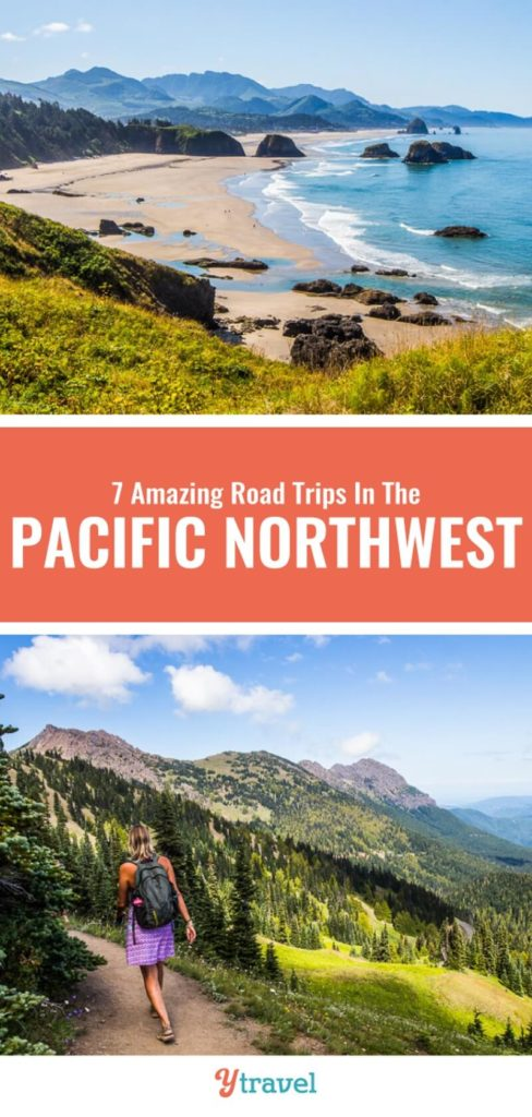 Planning your Pacific Northwest road trip just got easier with this guide on 7 road trip ideas that take in the best of Oregon, Washington State and Idaho. Check this out before you plan your next vacation to the PNW.